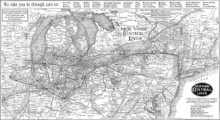 Map Of New York Rail System.New York Central System Historical Society Inc Nyc Railroad History