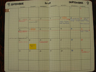 AK's diary - week view