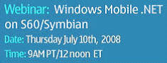 Forum Nokia Webinar - Windows Mobile .NET
