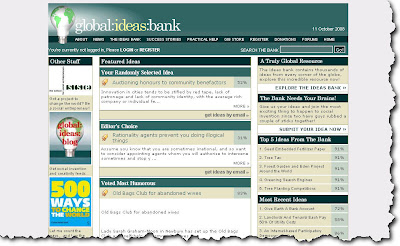 Ideas - Global Ideas Bank