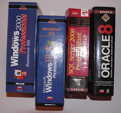 Old books - Oracle, MS SQL, Windows