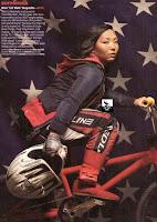 Kim Hayashi in Vibe Magazine