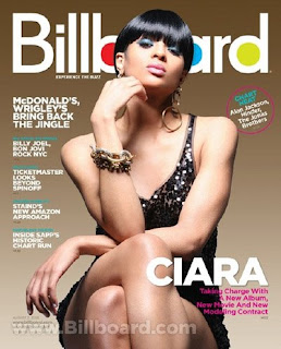 Ciara on Billboard August issue