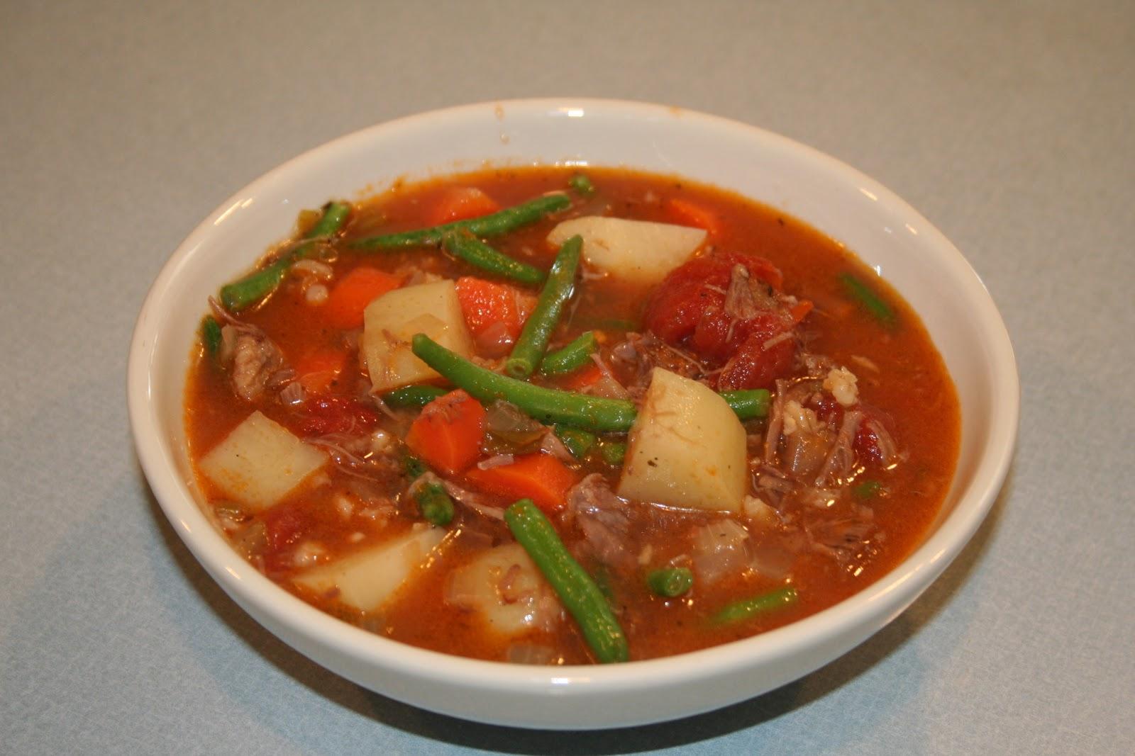 COOK WITH SUSAN: Beef Barley Vegetable Soup