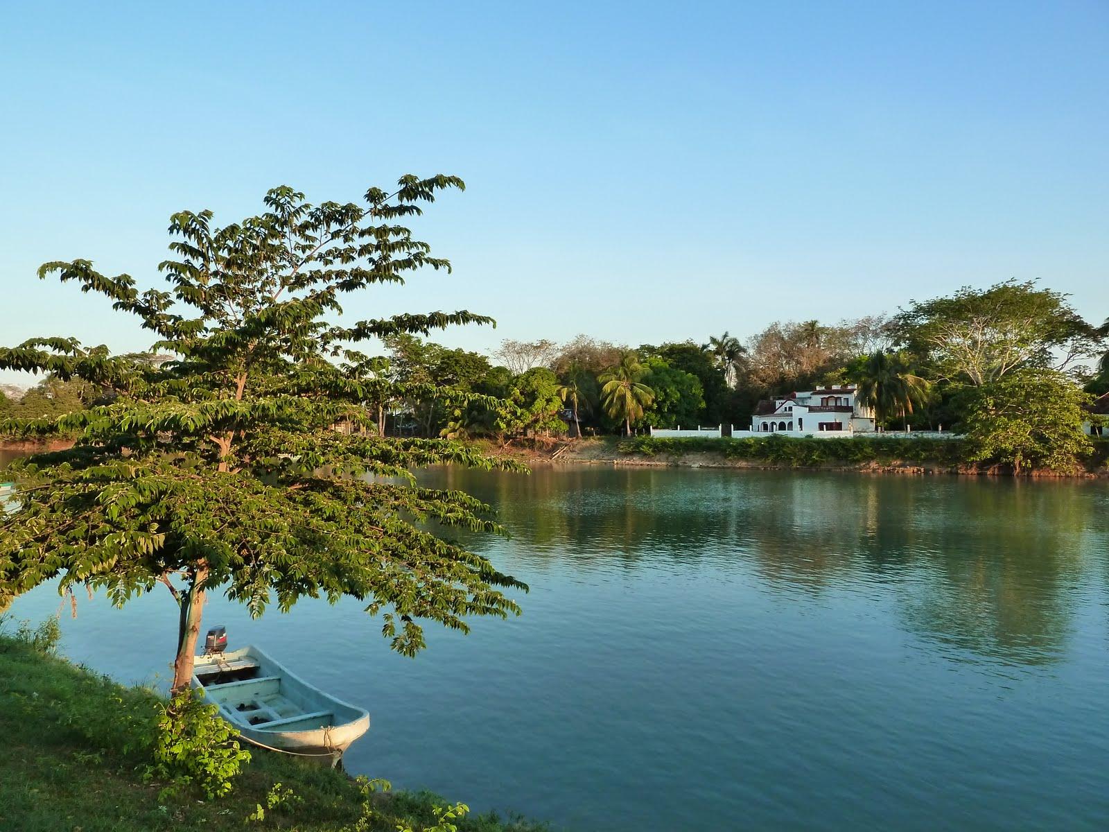 Vista del río Palizada