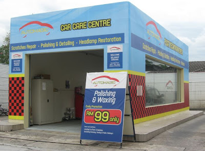 Damansara Uptown Automagic Sprayless Scratch Repair Booth
