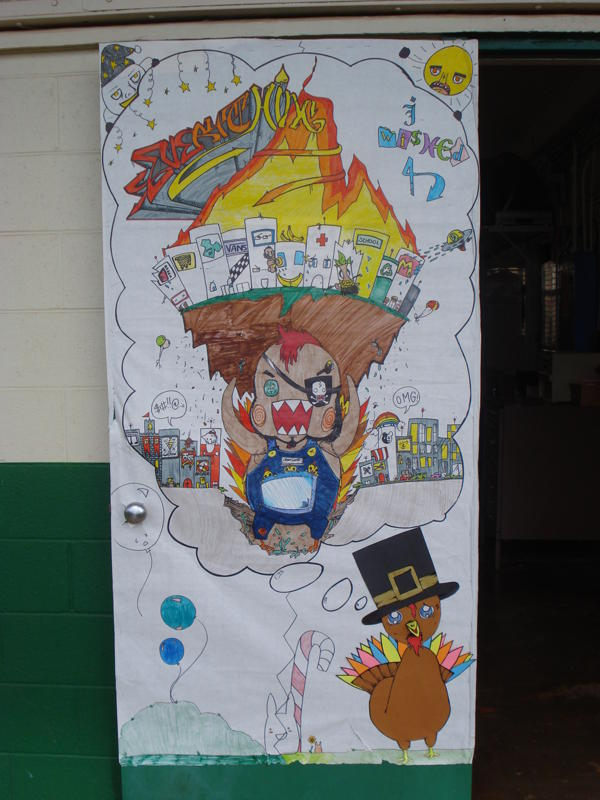 Aiea High School Student Activities: HOLIDAY DOOR ...