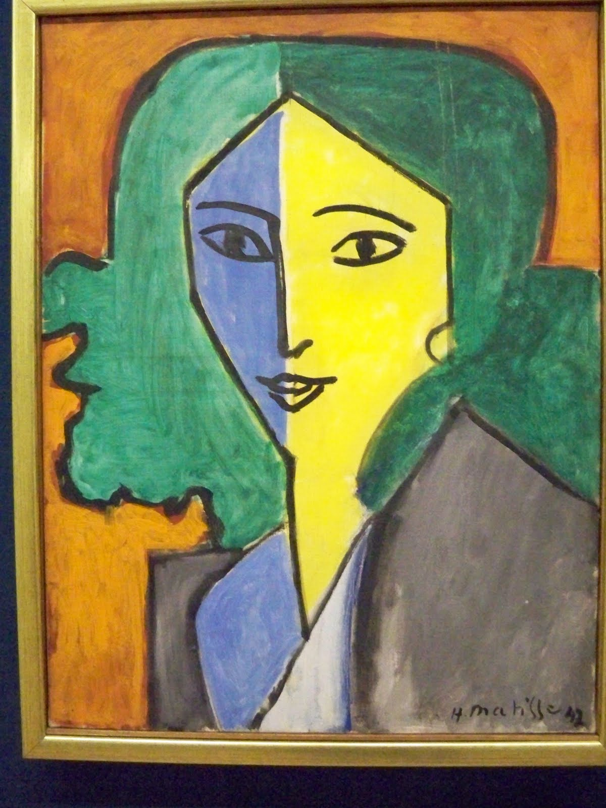 On the Way Home: Matisse