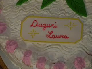 Torta Compleanno Laura.Pentole E Allegria Torta Di Compleanno Per Laura