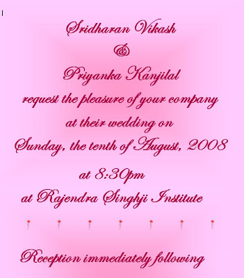 Marriage invitation letter for my friends letter idea 2018 to say or not my wedding invitation email stopboris Image collections