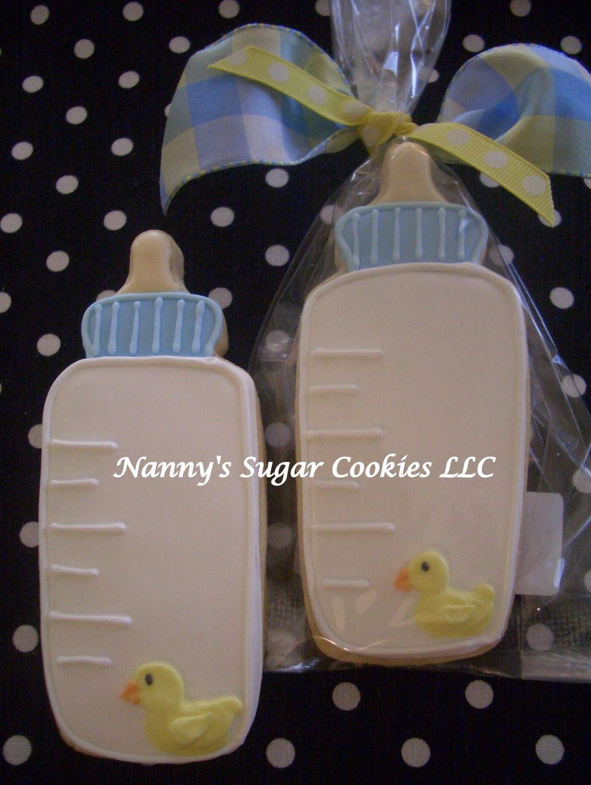 Nanny's Sugar Cookies LLC: Baby Shower Cookies