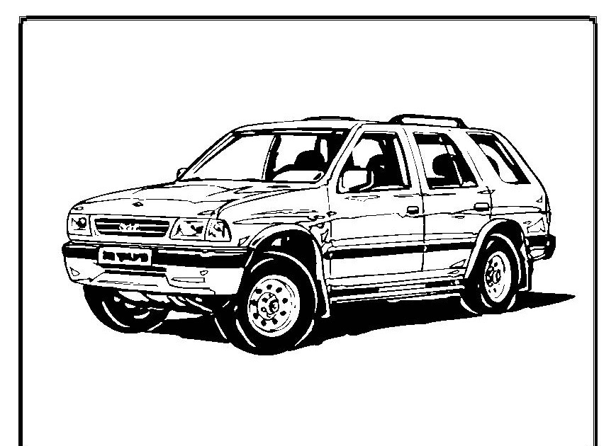 Interactive Magazine: Cars Coloring Pages