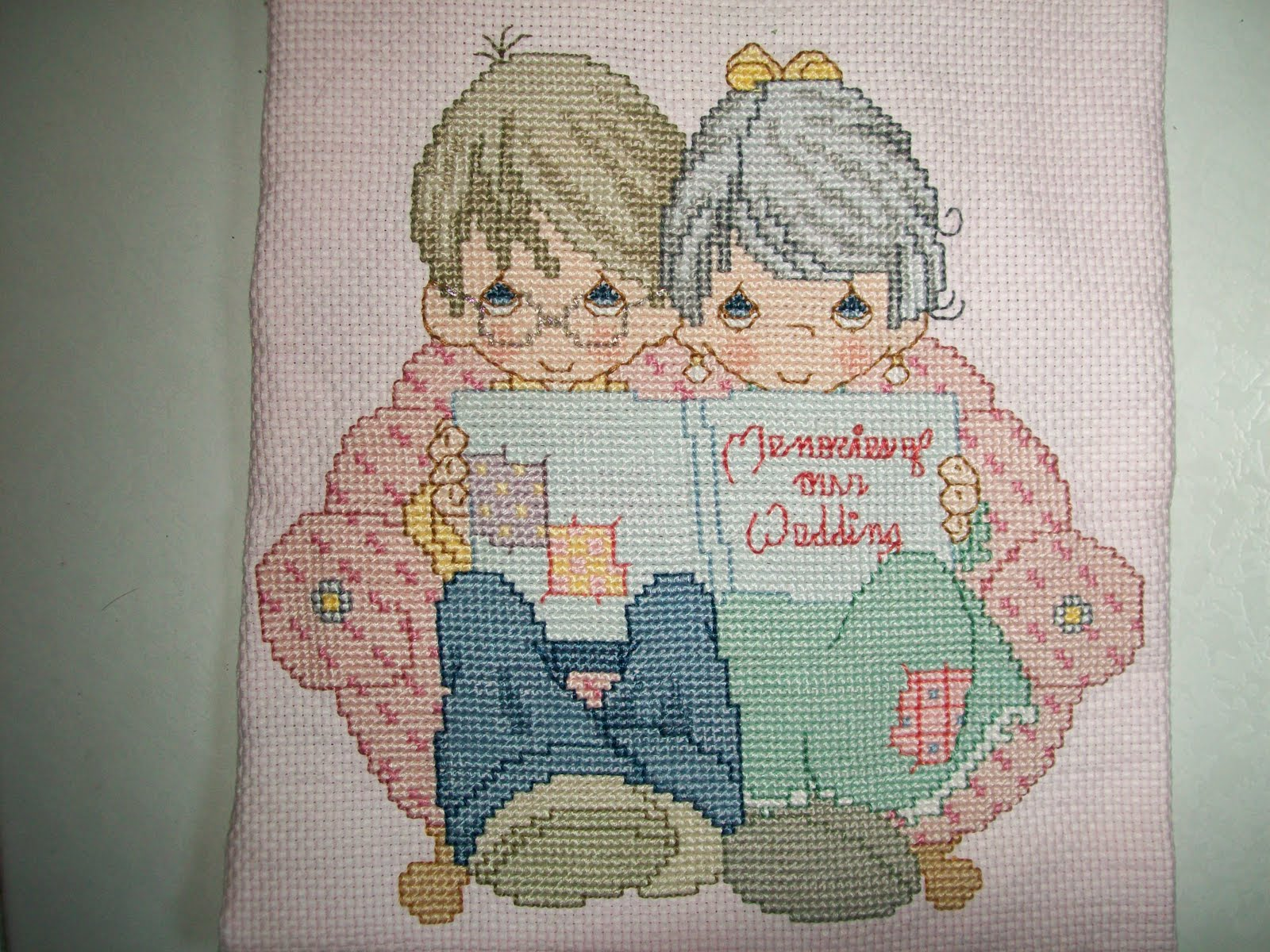 items made with love  precious moments cross stitch