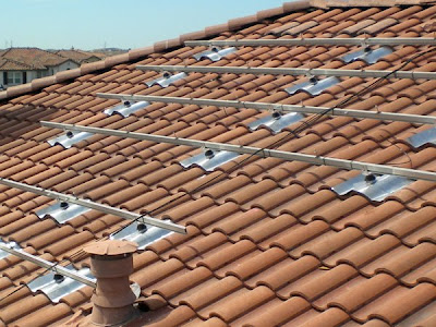 How to install solar panels on tile