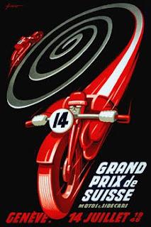 Vintage Motorcycle Racing Posters 108