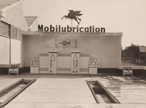 vintage venus art deco mobil garage penrith sydney 1930s. Black Bedroom Furniture Sets. Home Design Ideas