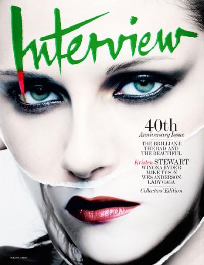 Fashiontography: Kristen Stewart by Craig McDean in Interview