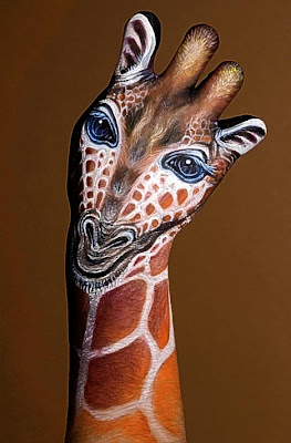 Amazing Hand Body Painting