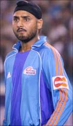 Harbhajan singh suspended from IPL