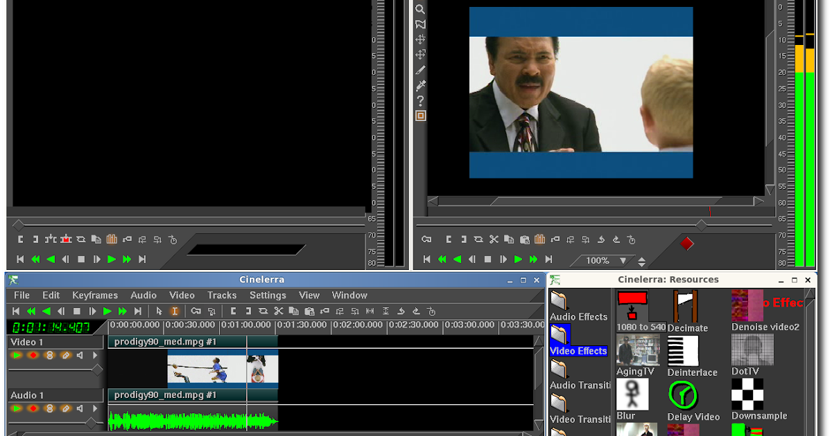 Linux Mini Free Video Editing Software For Linux