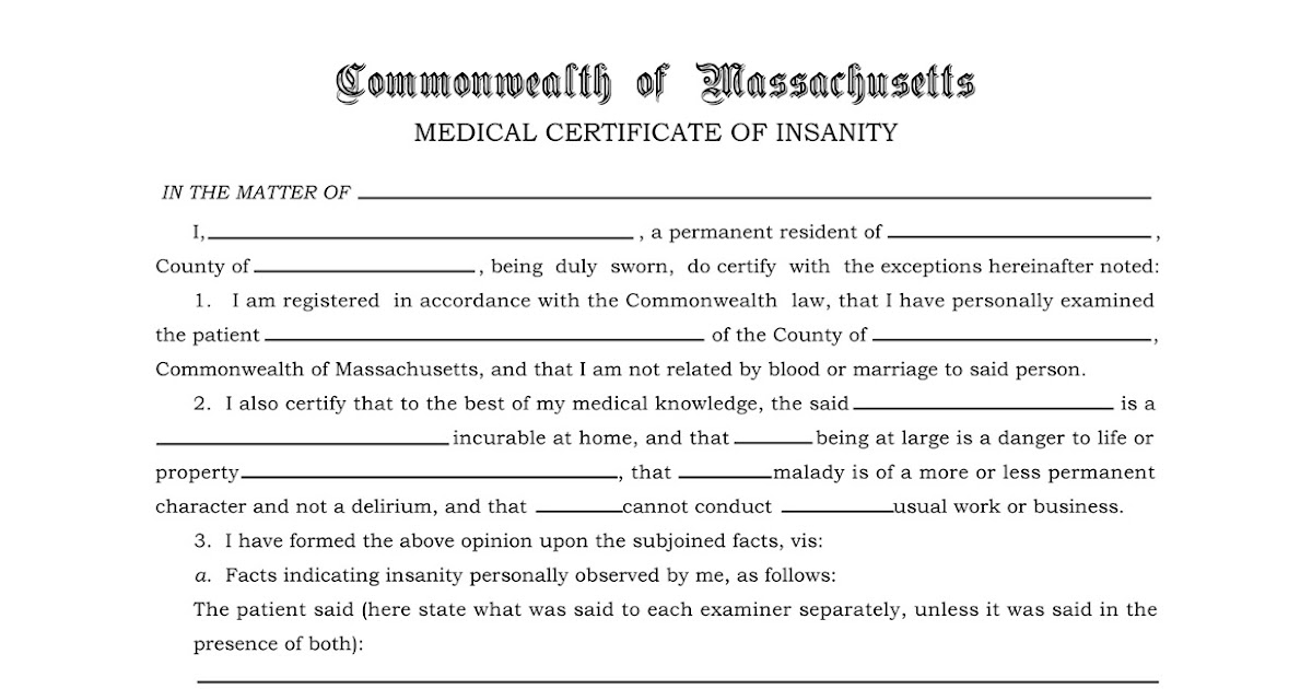 Propnomicon: Certificate Of Insanity