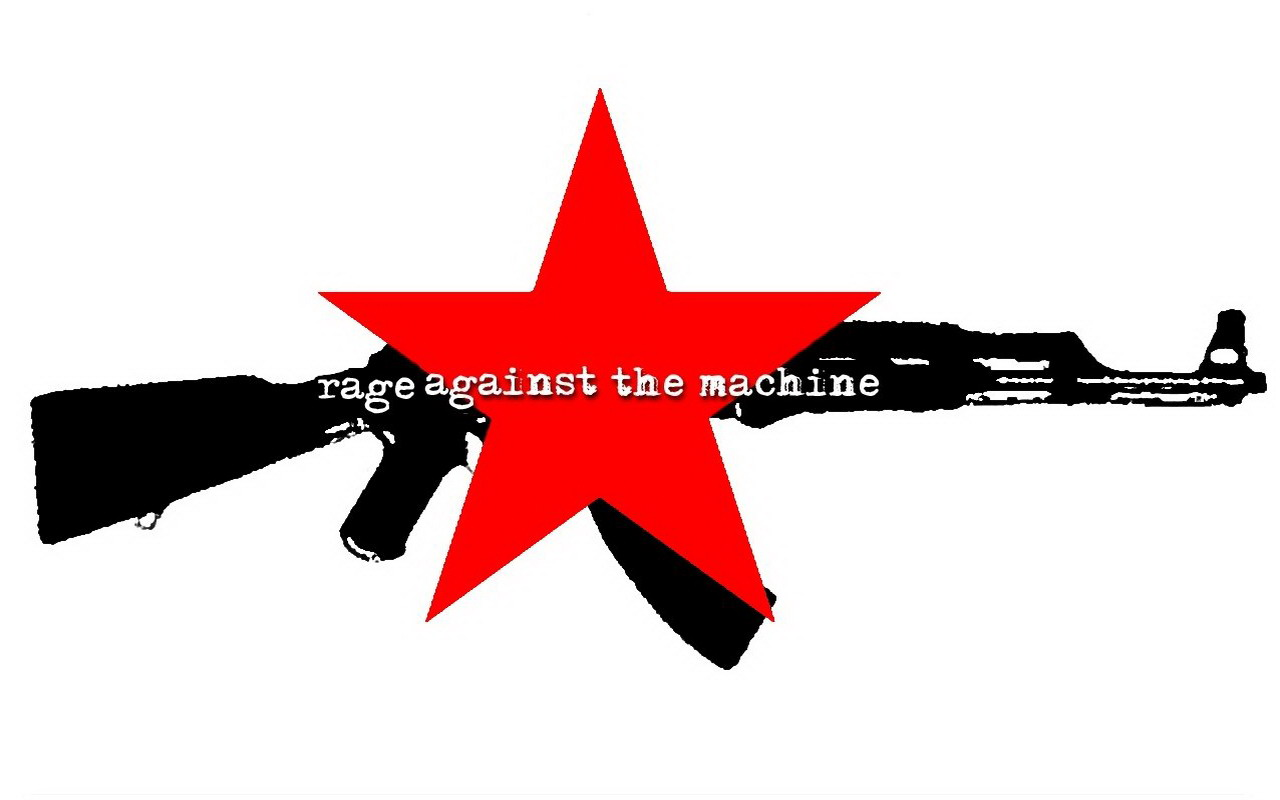 ROCK 'N' ROLL ALL NIGHT: WALLPAPER - RAGE AGAINST THE MACHINE