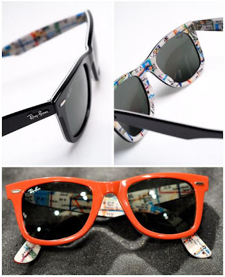 7be63dbcfd ray ban wayfarer nyc subway rare prints series