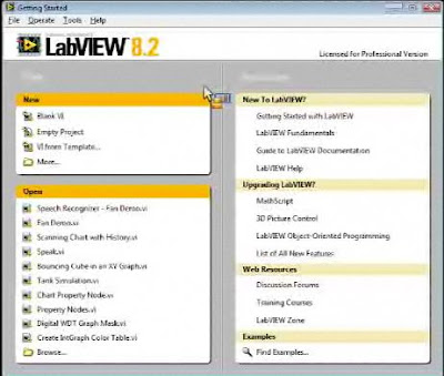 · Click to read about Labview software, from the National Instrument's website ·