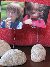Make ROCK PHOTO HOLDERS