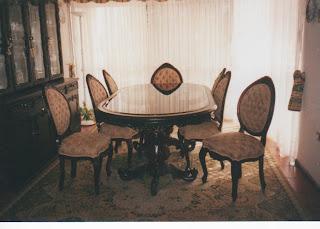 Comedores y sillas for Sillas comedor luis xv