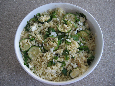 Tangy Courgette Couscous