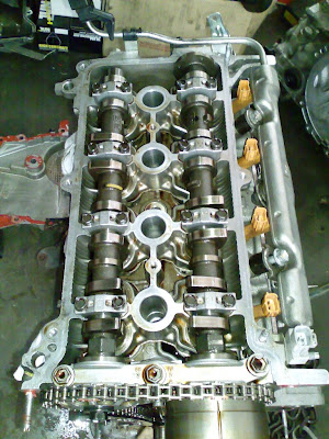 Toyota Vios Turbo: Stage 2 Turbo Project - Cylinder Head