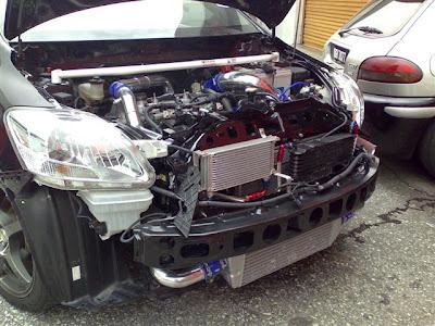 Toyota Vios Turbo: Sneak Peek | World's First 500 WHP 1NZ-FE
