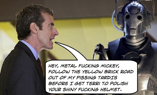 More Reasons Why Malcolm Tucker Should Be The Next Dr. Who