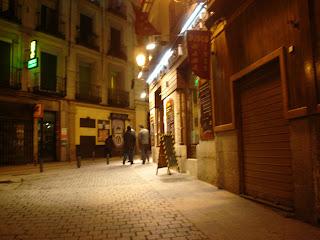 La Calle Madrid en Barcelona, la Calle Barcelona en Madrid