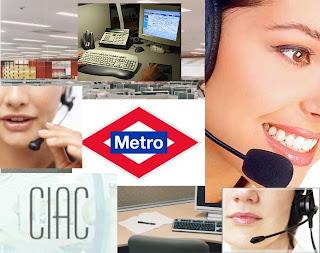 ¿Conoces el Servicio de Atencion al Cliente de Metro de Madrid. CIAC ?