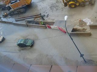 La M-30 se ahoga cada vez que llueve