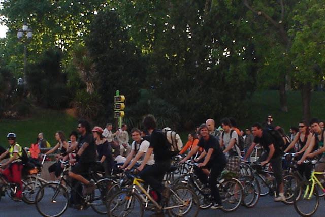 Fiesta de la Bicicleta Madrid 2012