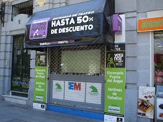 Ir a al teatro en Madrid te puede salir barato