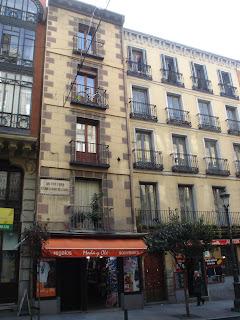 El edificio más estrecho de Madrid