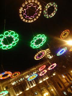 Las luces de la Navidad de Madrid en bici