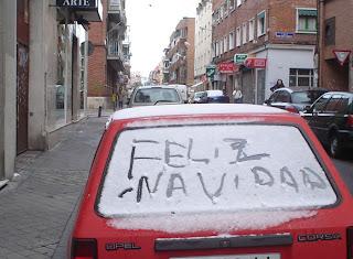 Frio siberiano en Madrid