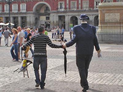 Lo que no se vea en la Plaza Mayor de Madrid...