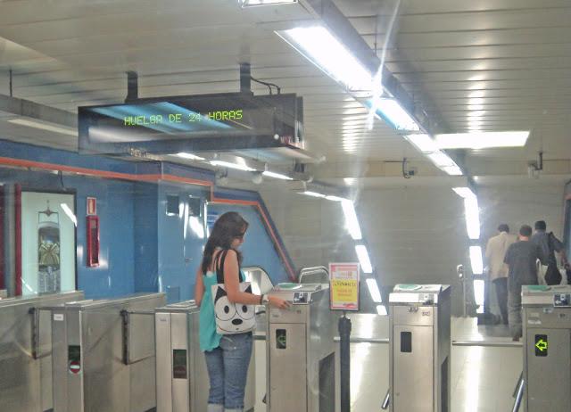 Servicios mínimos en el metro de Madrid para este lunes