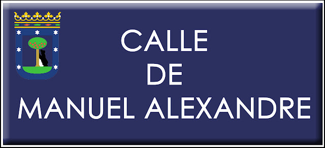 Manuel Alexandre tendrá su propia calle en Madrid
