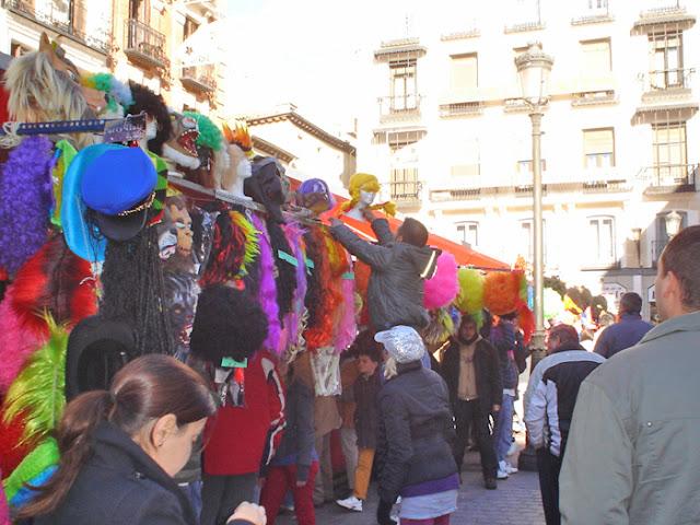 Mercado navideño de la plaza Mayor