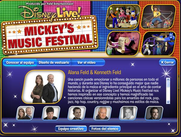 Disney Live! Mickey´s Music Festival en Madrid