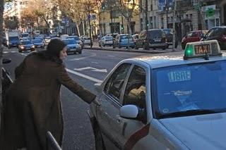 Tarifas del taxi en Madrid 2011