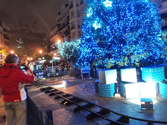 Navidad con niños en Madrid. El trenecito de Navidad de la Red de San Luis