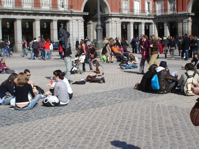 San Valentín en Madrid. La moda de los candados